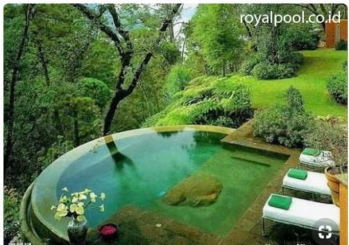 kolam renang mini infinity keren