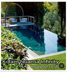 KOLAM RENANG DAK INFINITY MEMPESONA