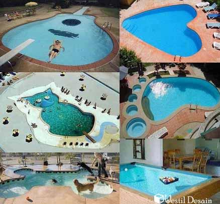 kolam renang kreatif