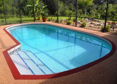 lantai karet kolam renang