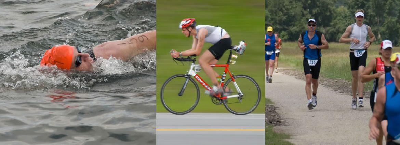 Triatlon di Kolam Renang Sendiri
