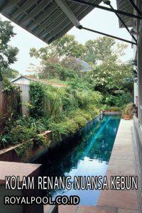 Kolam Renang Nuansa kebun Benarkah Bermanfaat Ganda?